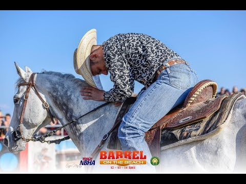 The Best Riders And Horses, From Barrel Racing - Barrel On The Beach 2019