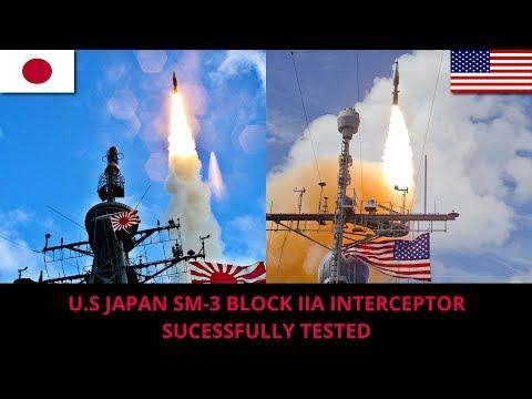 SM 3 BLOCK IIA SHOOT DOWN BALLISTIC MISSILE