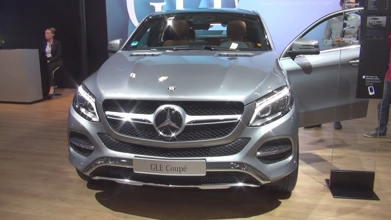 mercedes benz gle 350 d 4matic coup style 2015 exterior and interior in 3d youtube. Black Bedroom Furniture Sets. Home Design Ideas