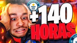 WORLD RECORD JUGANDO FORTNITE  (+140 HORAS) - TheGrefg