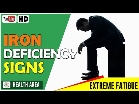 6 Unusual Symptoms of Iron Deficiency