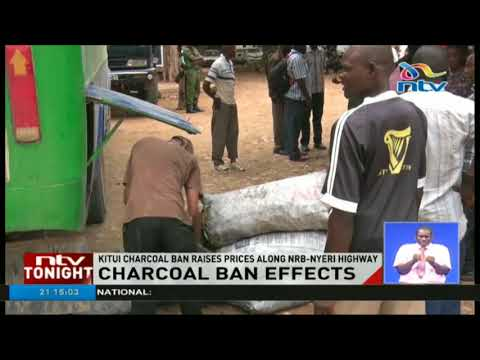Charcoal traders vow to stay put until alternative provided