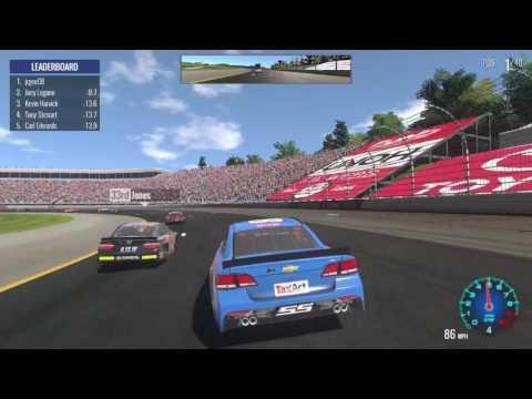 NASCAR Heat Evolution - Career Mode - Season  - New Hampshire Motor Speedway - Race 19 of 36