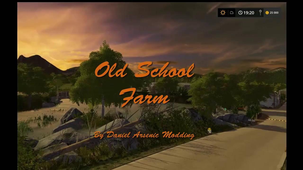 Old School Farm v2.0 - FS17 Mod | Mod for Landwirtschafts ...