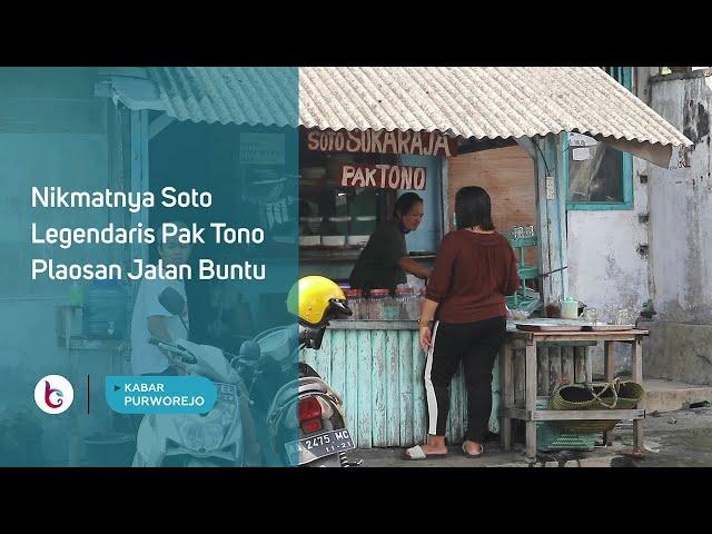 Nikmatnya Soto Legendaris Pak Tono Plaosan Jalan Buntu