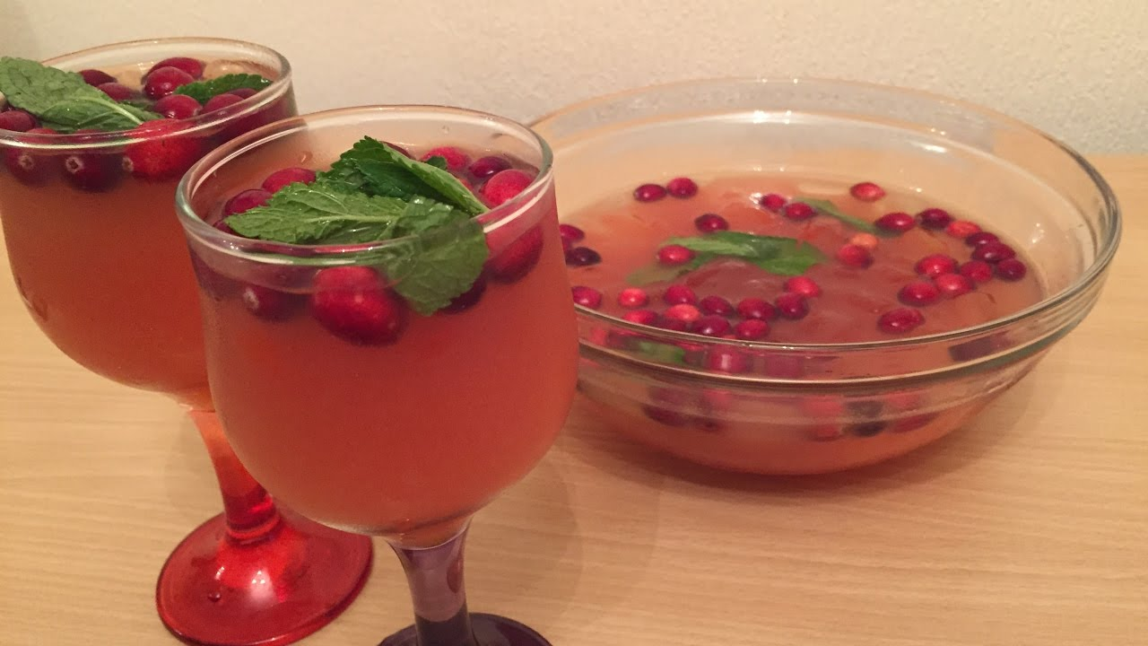 christmas punch recipe very easy vlogmas day 8 youtube