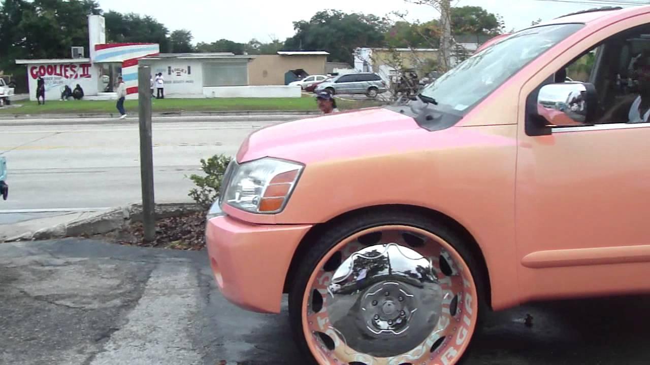 Nissan armada truck on 30 forgiatos foooootttaggge youtube vanachro Choice Image