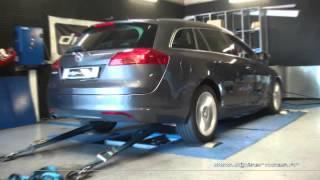 Reprogrammation Moteur Opel Insignia cdti 160cv @ 188cv Dyno Digiservices paris