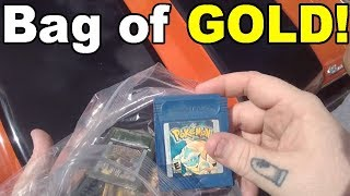 Live Flea Market/Yard Sales Video Game Hunting! Ep. 53 WHY DID THEY LEAVE THIS? - Pickups!