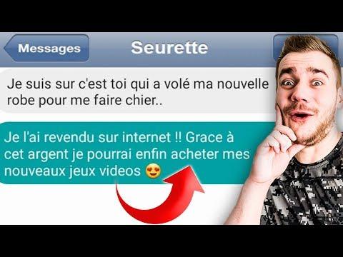 LES PIRES SMS ENTRE FRÈRE ET SŒUR !