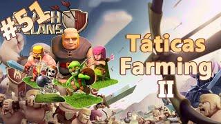 Clash of Clans HD Parte 51 - Centro de Vila 8 (CV8): Táticas e Estratégias de Ataque Farming II