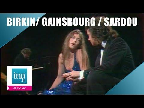 Birkin, Gainsbourg et Sardou
