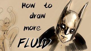 How to draw more fluid (Gestures) + Art Challenge!