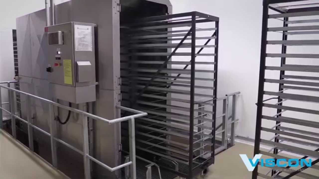 Viscon Hatchery Automation - Cleaning & storage - YouTube