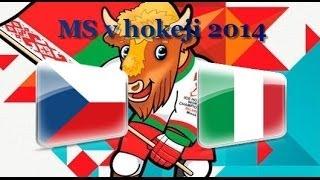 MS v ledním hokeji 2014 Bělorusko #4: Česko - Itálie 2:0