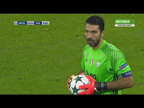 Gianluigi Buffon vs Lyon (Away) UCL 2016-17 HD 720p