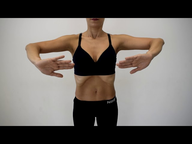 Posturas básicas hipopresivos FEDA