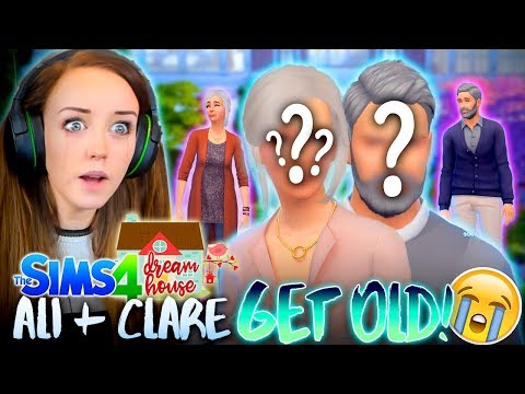 👵🏻👴🏻OUR OLD FACES ARE REVEALED!!!😭 (The Sims 4 #51!🏡)