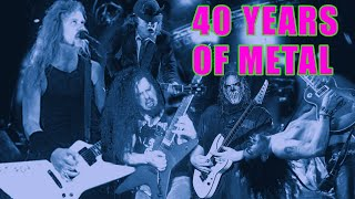40 Years Of Metal Guitar Riffs In Under 4 Minutes