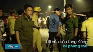 Sập cầu ở Sài Gòn - Người nhái lặn tìm người bị nạn