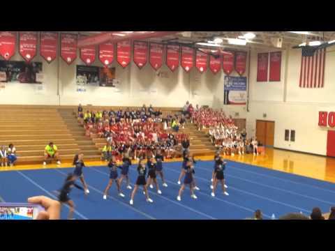 Glen Este Middle schools performance @ GEYFC comp