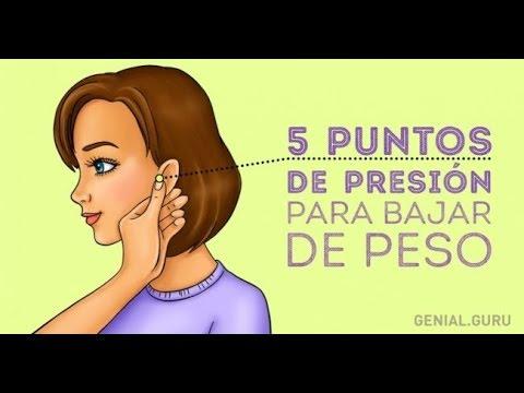 Semillas en las orejas para bajar de peso