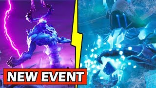 *NEW* THE ICE KINGS SECRET PLAN! ( ICE SPHERE EVENT ) FORTNITE SNOW STORM COMING!