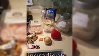 Risotto au émincé de poulet et champignons au companion