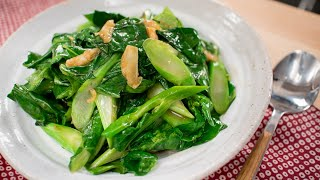 My Go-To Side: Gai Lan Oyster Sauce Stir-Fry Recipe (Chinese Broccoli)