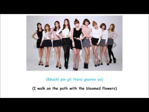 How Great is your Love SNSD Lyrics [ENG+ROM]