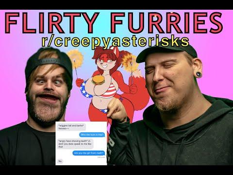 Why Do So Many Furries Talk Like This?! (r/creepyasterisks)