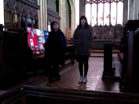 VID CHAR SINGING EVESHAM CHURCH