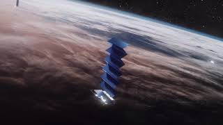 Official animation showing the way starlink satellites deploy their solar arrays.credit: spacex (starlink.com)