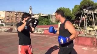 Muay Thai - K1.  Training Vincenzo Laino