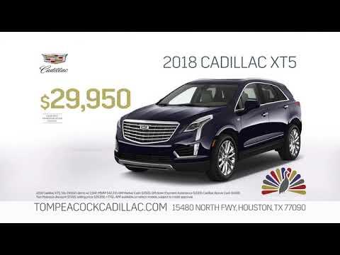 Season S Best 2018 Xt5 Offer Tom Peacock Cadillac Youtube