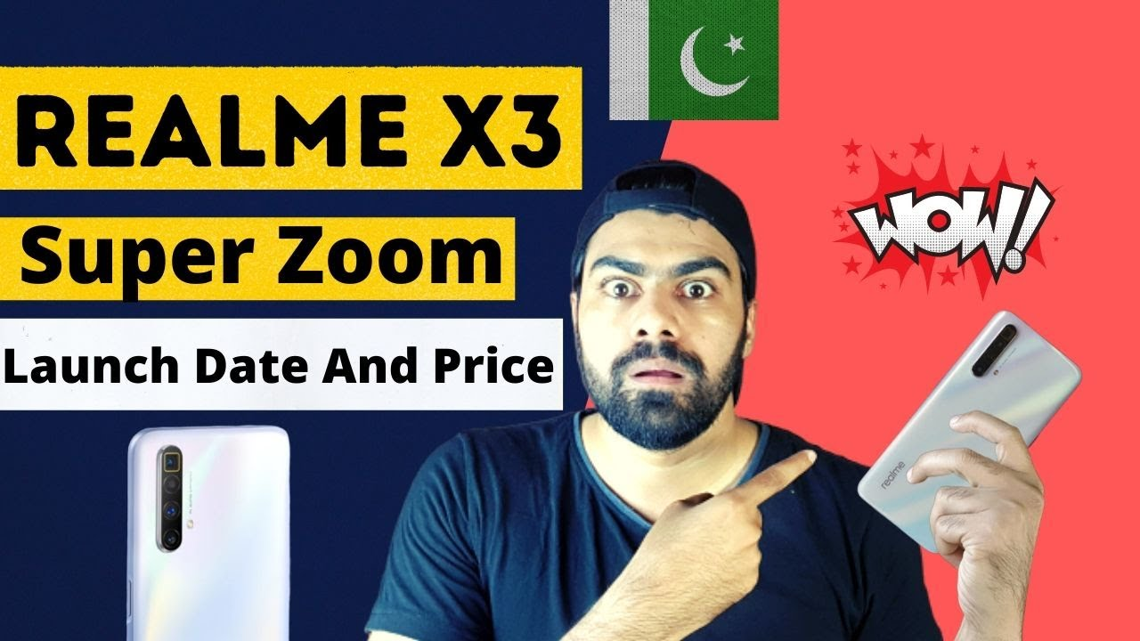 Realme X3 Super Zoom Launching In Pakistan First Look And