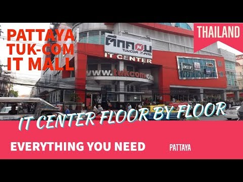 Tour at Pattaya Tuk-Com IT Mall 01/25/2017 [v004]