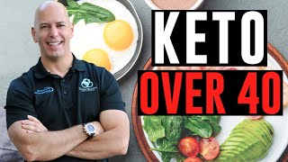 IS THE KETO DIET SAFE AND HOW TO DO IT, IF YOU'RE OVER 40?
