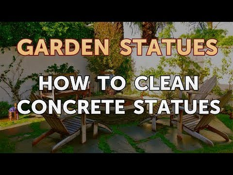 How to Clean Concrete Statues. Garden & Lawn