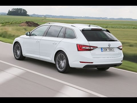 skoda superb combi 2015 erste fahrt youtube. Black Bedroom Furniture Sets. Home Design Ideas