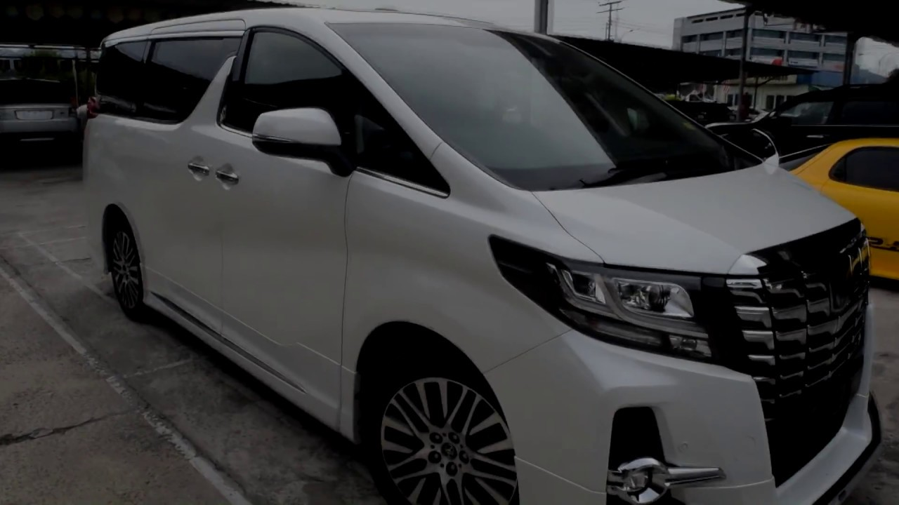 8aab817b44 Toyota Alphard Luxury 2016 - YouTube
