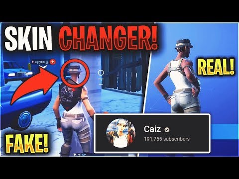 Exposing CAIZ for using Recon Expert SKIN CHANGER and FAKING VIDEOS...