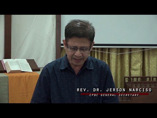 CPBC General Secretary Invites to Attend 7th Biennial Assembly