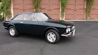 1974 Alfa Romeo 2000 GTV Test Drive