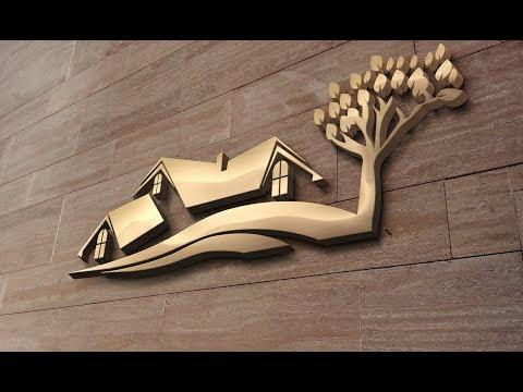 ক্রিয়েটিভ হাউস লোগো ডিজাইন ইলাস্ট্রেটর|Creative House Building Design Illustrator Cc|Logo House