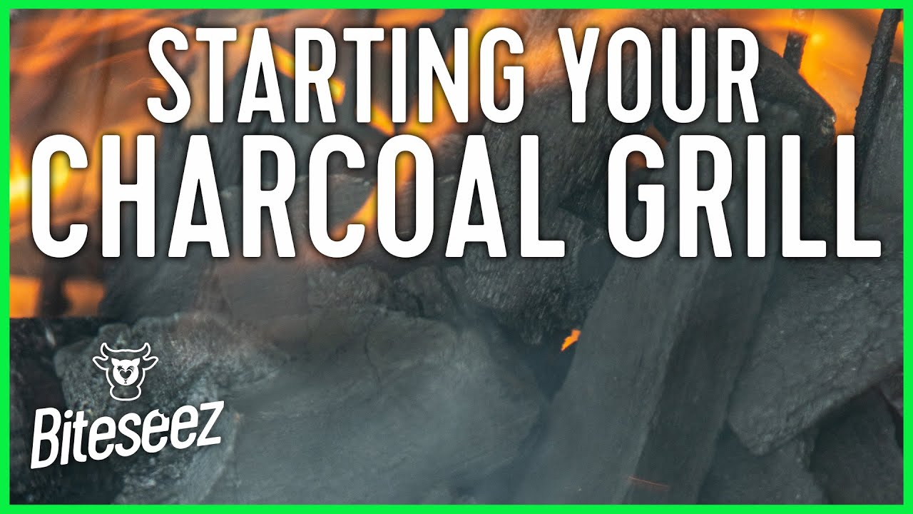 Grilling 101: How to Start a Charcoal Grill Fire - NO Lighter Fluid!