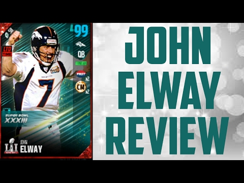 97 Overall John Elway Review - Madden 17 Ultimate Team