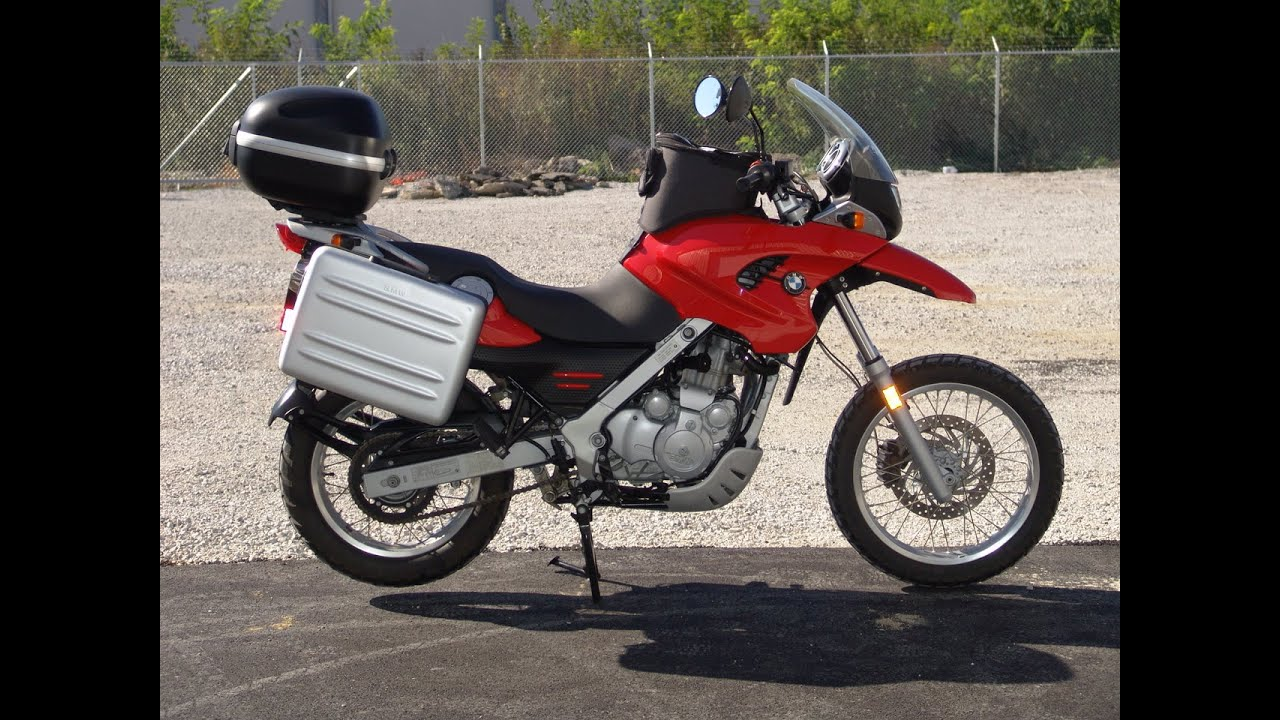 2001 bmw f650gs red youtube. Black Bedroom Furniture Sets. Home Design Ideas