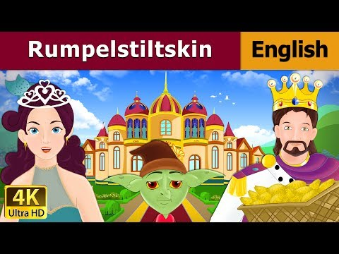 Rumpelstiltskin in English - Fairy Tales - Bedtime Stories - 4K UHD - English Fairy Tales