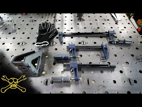 How To Make Welding Table Fixture Clamps | Bessey Clamp